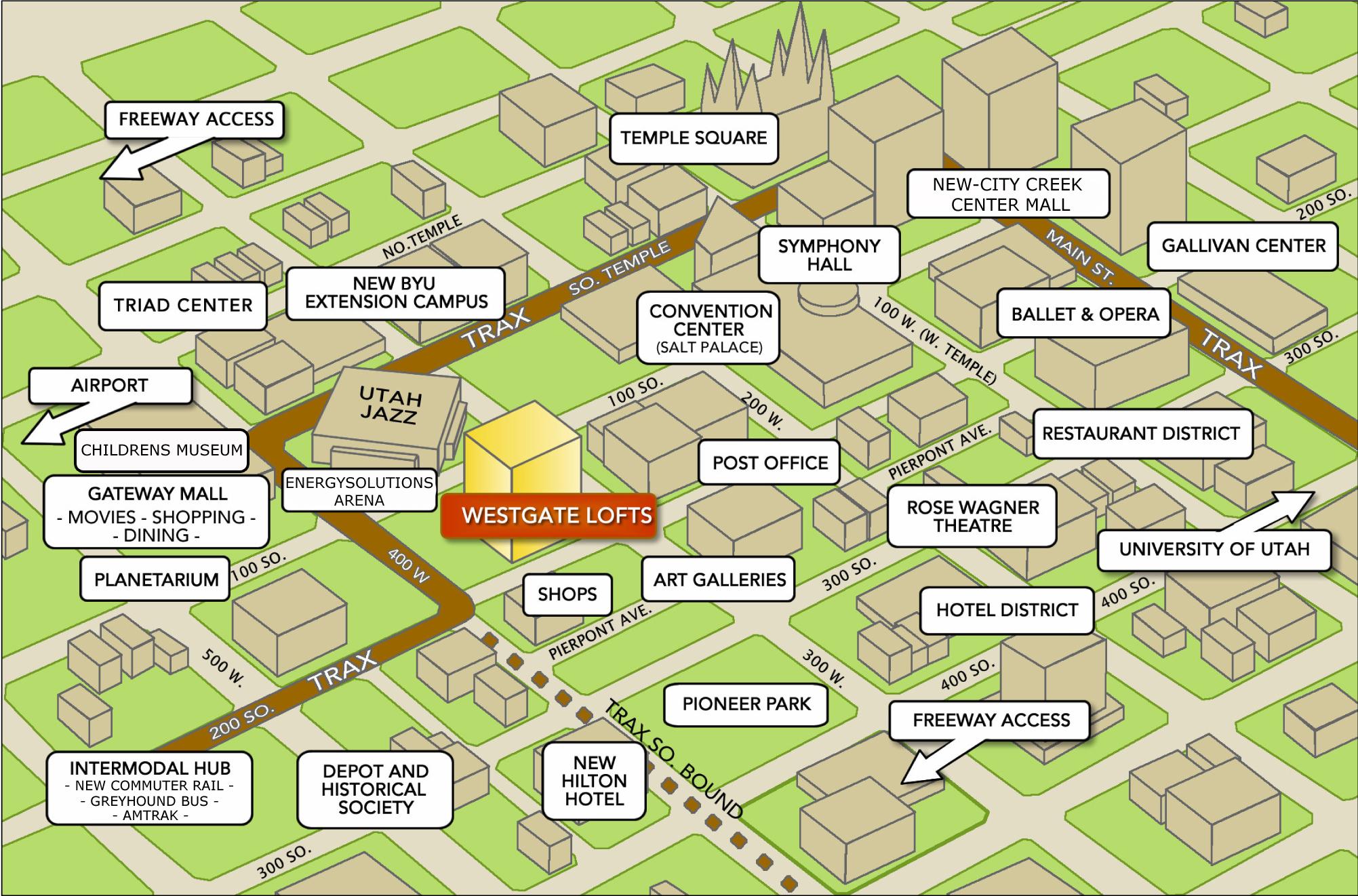 About Lofts Westgate Lofts
